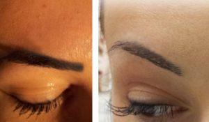 usuwanie makijażu permanentnego
