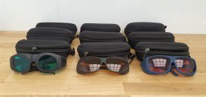 okulary z certyfikatem dla operatora lasera